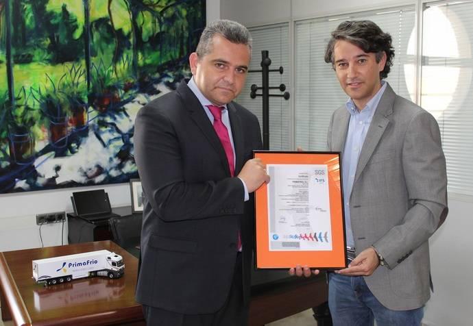 Primafrio refuerza su certificación agroalimentaria con norma IFS Logistics