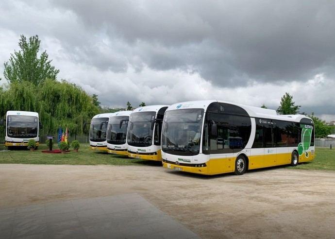 Primeros autobuses eléctricos para Santander de BYD