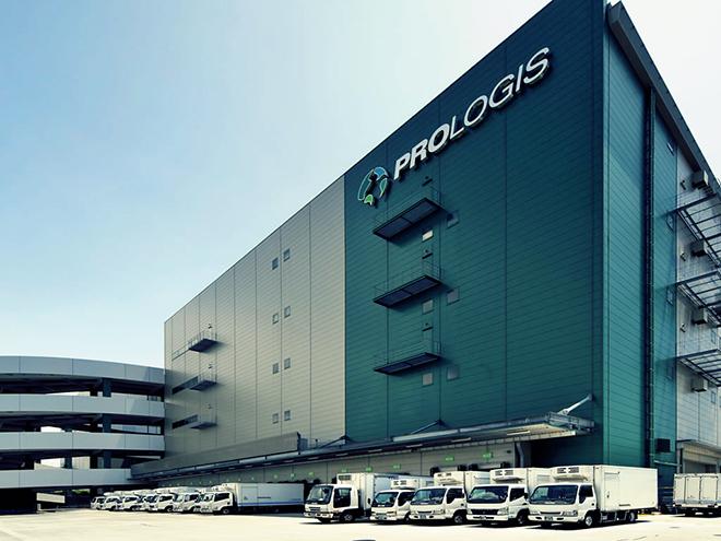 Un almacén logístico de Prologis.