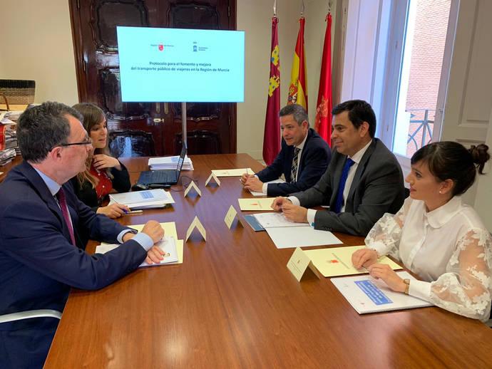 Estrategia para satisfacer movilidad área metropolitana de la urbe de Murcia