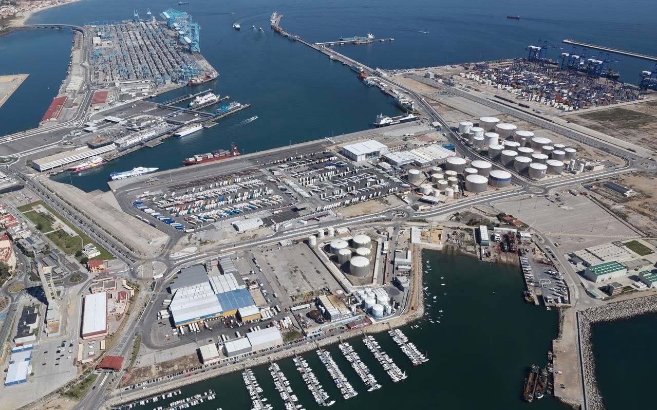 El puerto de algeciras alcanza los 100 millones de toneladas movidas nexotrans - Puerto de algeciras hoy ...