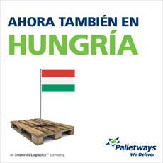 Palletways en Hungría.