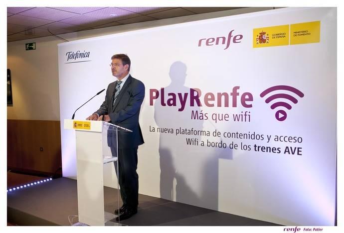 Renfe presenta su WiFi en trenes AVE, único y pionero en el mundo
