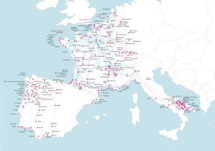 Alsa refuerza sus líneas en Europa con el acuerdo con el operador francés Ouibus