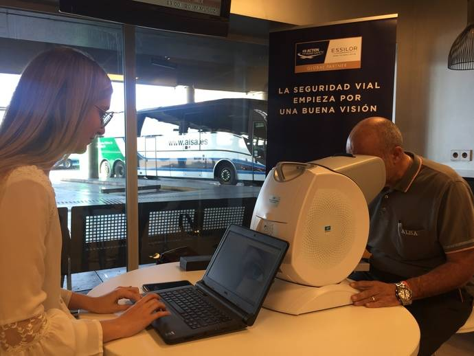 Essilor y Alsa se unen por la salud visual de sus conductores