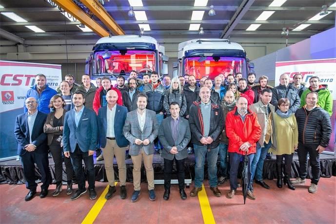 Renault Trucks inaugura nuevas instalaciones en Tudela