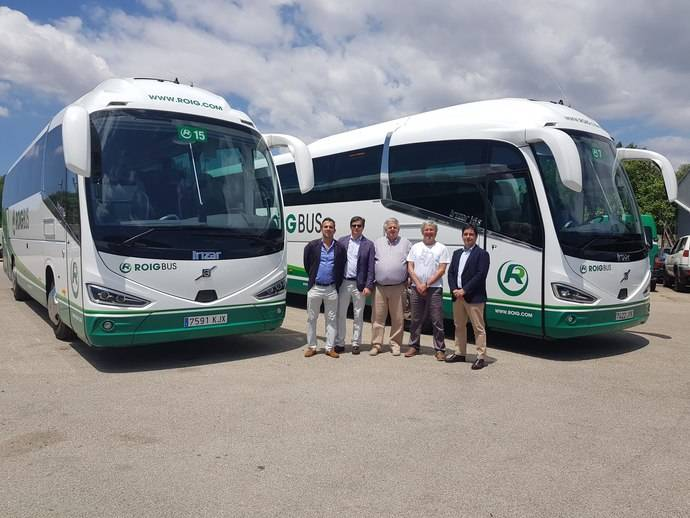 La empresa mallorquina Roig Bus renueva su flota de cara a la temporada veraniega