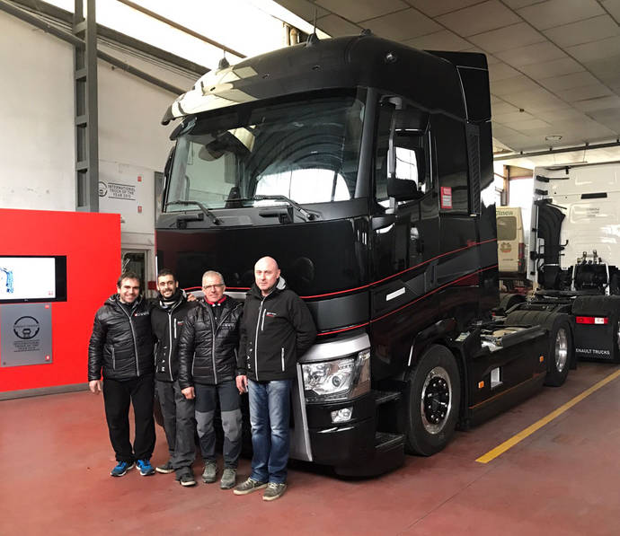 Se celebra el campeonato RTEC de Renault Trucks