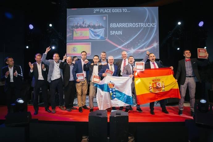 Equipo español, 2º del mundo en gran desafío postventa de Renault Trucks