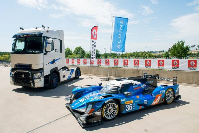 Renault Trucks crea la serie especial T High Edition – Team Alpine