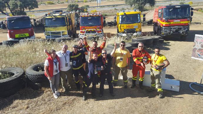 Renault Trucks corona a los mejores conductores forestales de bomberos