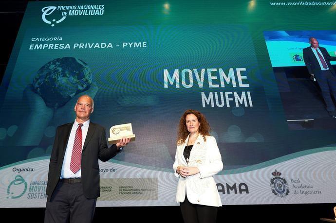 La empresa andaluza Mufmi: 'I Premio Nacional de Movilidad 2021'