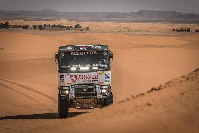 Tres camiones de Renault Trucks participan en el Rally Dakar 2018