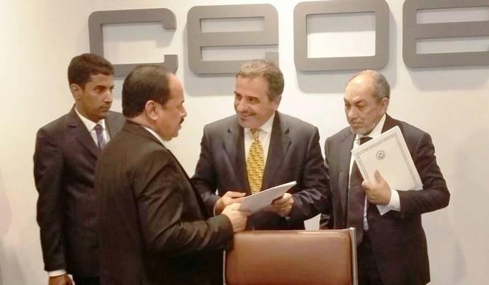 Reunión en Madrid entre Astic y Mauritania