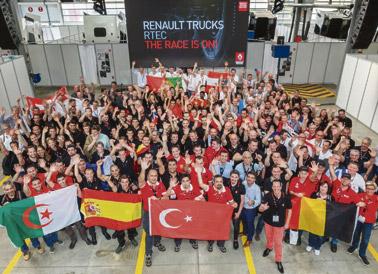 Finaliza el desafío internacional de postventa de Renault Trucks