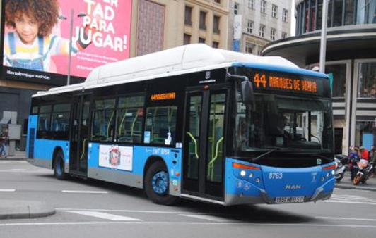 10 líneas de EMT Madrid refuerzan su servicio en el distrito Centro