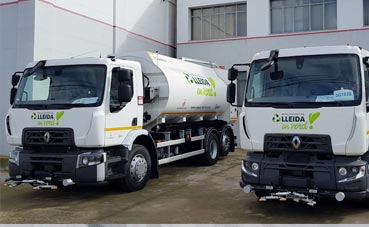 Ilnet renueva su flota de vehículos de limpieza con Renault