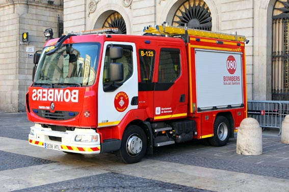 Nuevos Renault Tucks en el cuerpo de bomberos