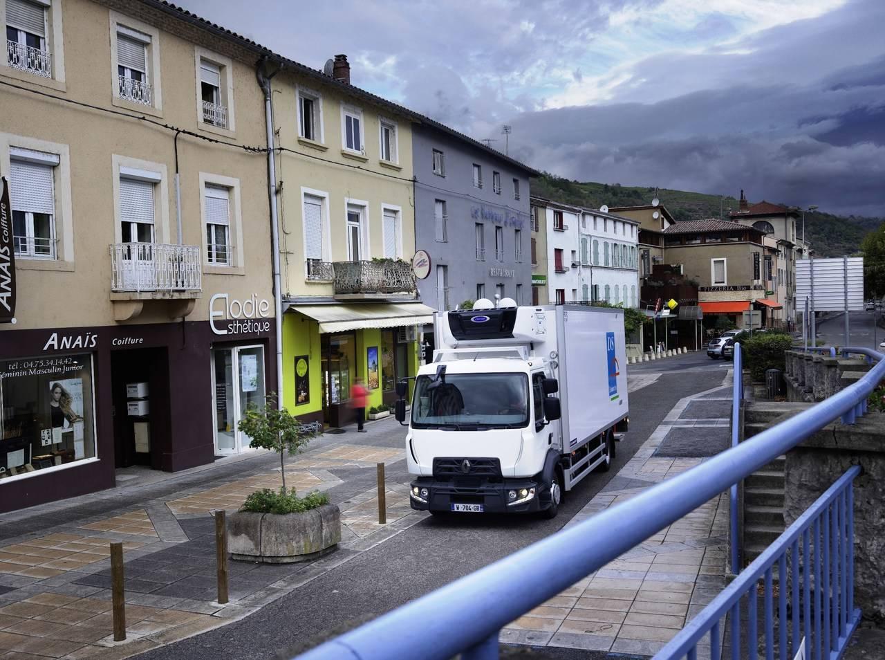 La gama D de Renault Trucks, preparada para hacer frente al invierno con total seguridad