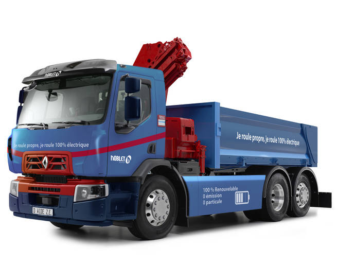 Renault Trucks producirá el primer camión 100% eléctrico