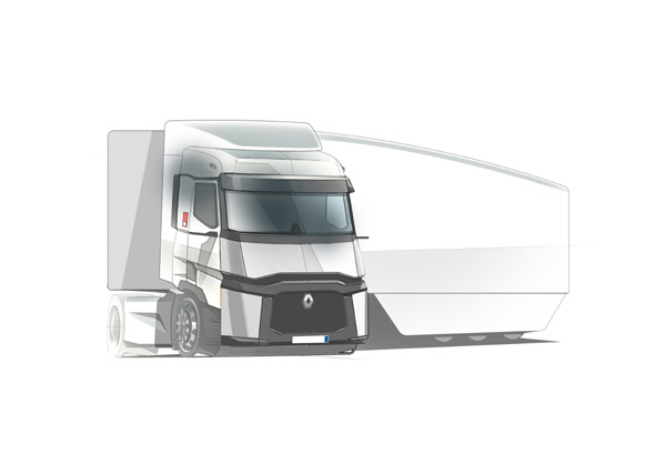 Menor consumo y contaminación con el nuevo camión-laboratorio de Renault