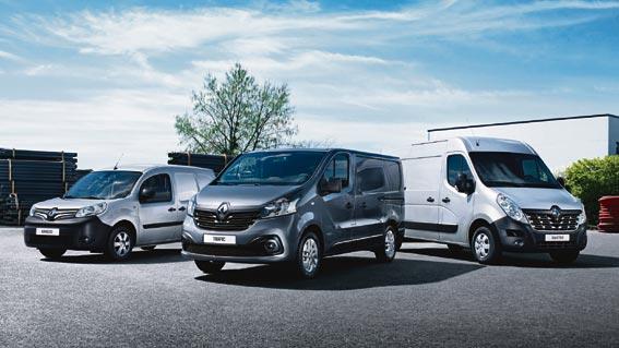 Renault aumenta las ventas de sus vehículos comerciales