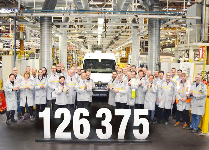 La planta de Renault en Batilly logra récords