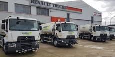 Los vehículos pertenecen a la Gama D de Renault Trucks, eficientes y sostenibles.