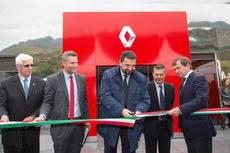 Renault Trucks inaugura nuevo punto de red en Bilbao.