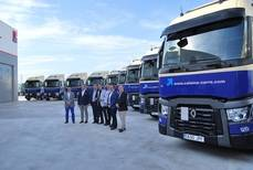 Parte de las 50 unidades adquiridas a Renault Trucks