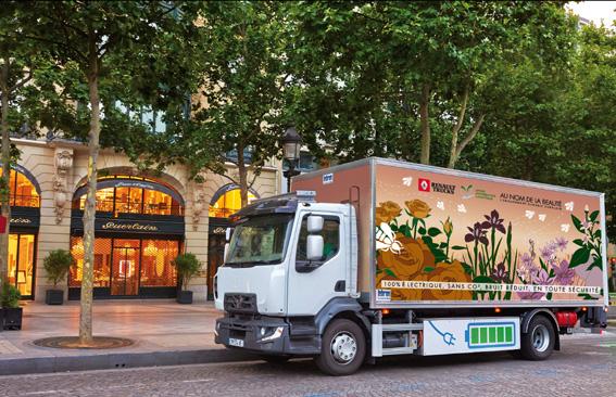 Renault Trucks comercializará sus primeros camiones eléctricos en 2019