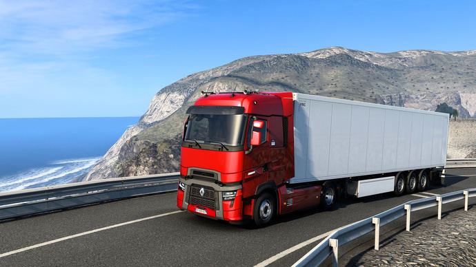 Nueva gama T de Renault Trucks, presentada en Euro Truck Simulator