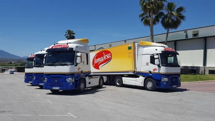 Famadesa amplia su flota con las gamas T y C de Renault Trucks