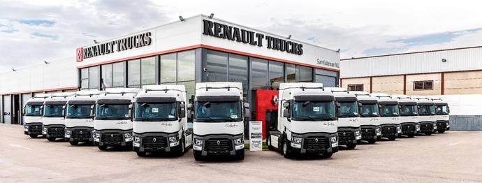 Famaguilera adquiere 12 Renault Trucks Gama T