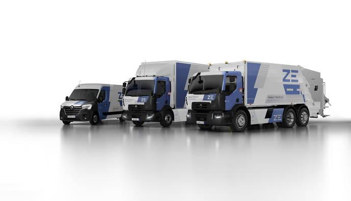 Renault Trucks expone su visión: eficiencia y electromovilidad