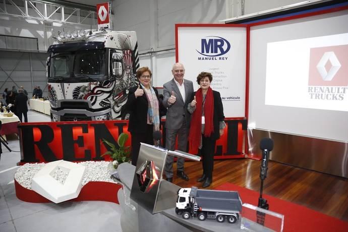 Renault Trucks inaugura un nuevo punto de red en Santiago de Compostela