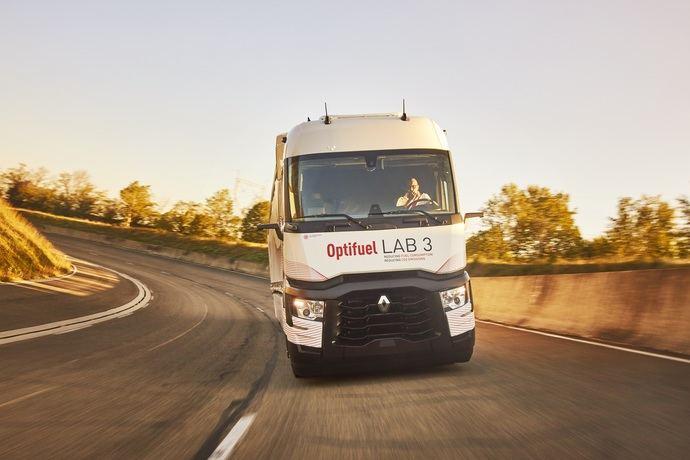 Resultados del Optifuel Lab 3 de Renault Trucks: eficiencia energética