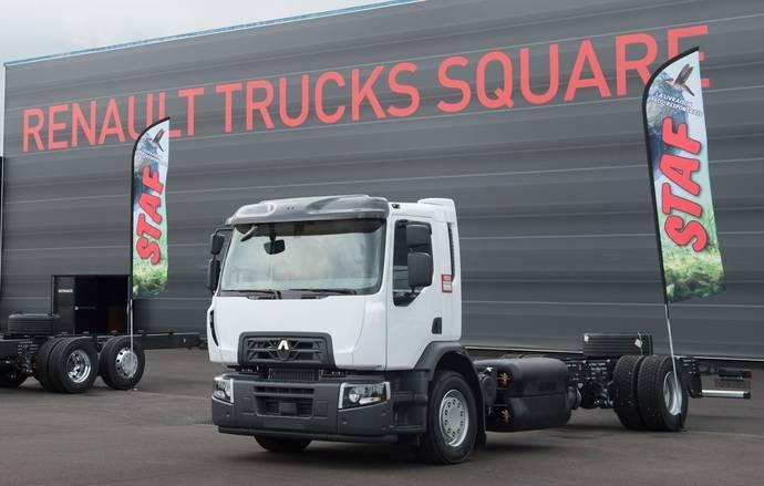 Renault Trucks presenta en primicia Urban lab 2 y un D Wide GNC con escape horizontal