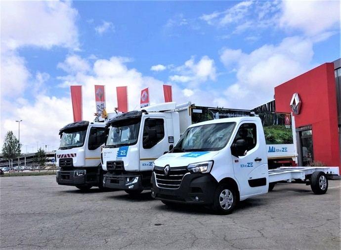 La red Renault Trucks, certificada para electromovilidad