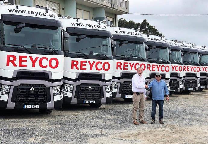 Reyco renueva su confianza en Renault Trucks, con la Gama T