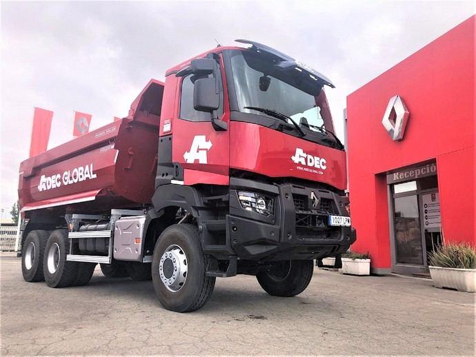 Renault Trucks K: Una solución a medida para Adec Global