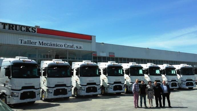 Transrolan adquiere ocho Renault Trucks T 520 High Sleeper Cab