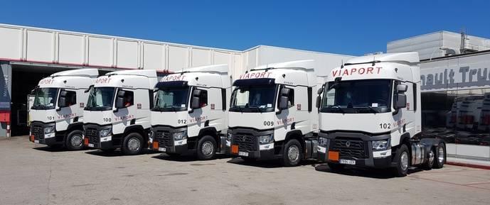 Viaport elige la Gama T de Renault Trucks para el desarrollo de su actividad