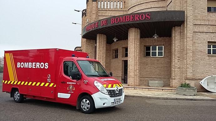 Bomberos de Toledo adquieren un furgón eléctrico Renault