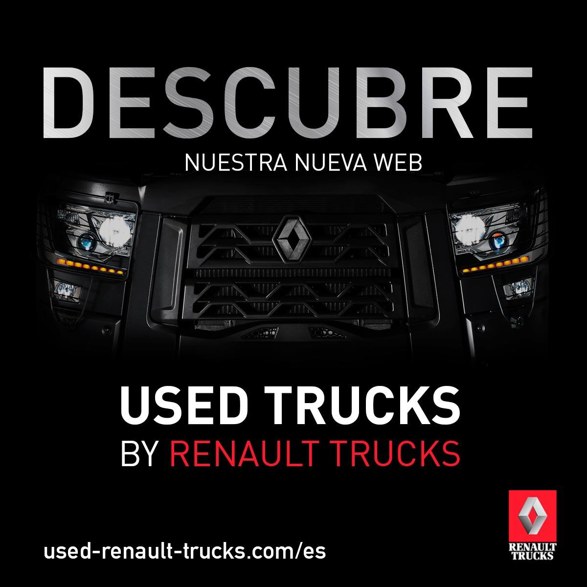 Renault Trucks lanza una nueva 'web' destinada a vehículos de ocasión
