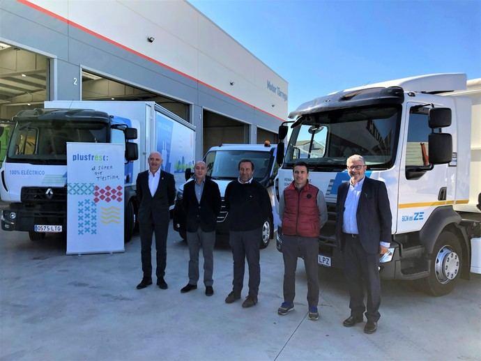 Renault Trucks firma el primer pesado 100% eléctrico en Cataluña