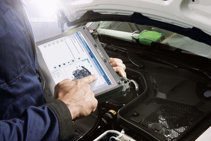 Bosch integra datos de reparación y mantenimiento