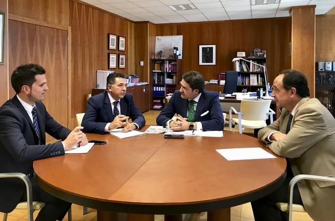 Castilla y León y La Rioja tratan sobre infraestructuras de comunicación
