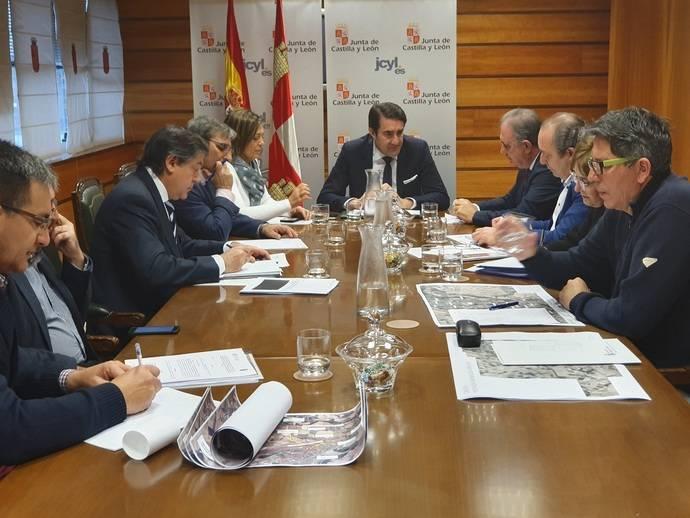 Castilla y León proyecta construir una vía de servicio en la carretera CL-613 de acceso a Grijota, para mejorar la seguridad vial en el término municipal