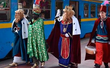 Alsa vuelve a organizar el 'Tren de los Reyes Magos'